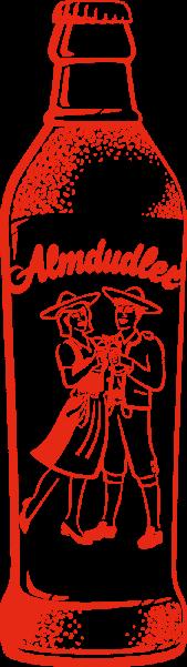 almdudler-outline-bottle