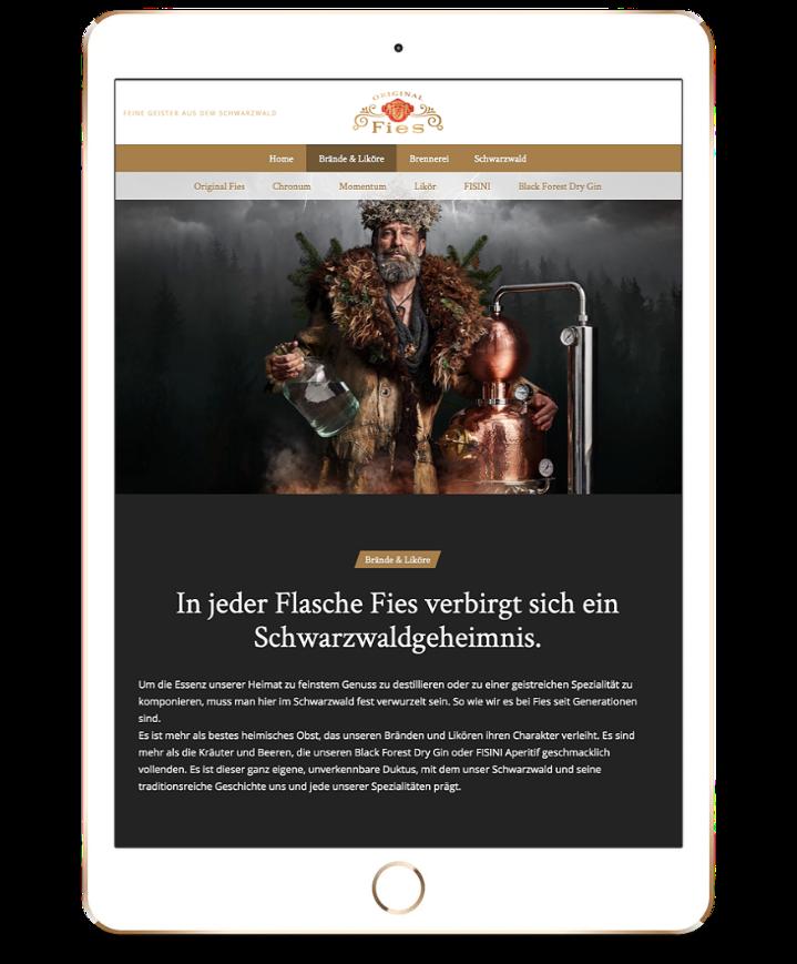 fiesbrennerei-website-tablet-mockup
